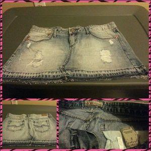 YMI Denim - YMI Butt lifting jeans skirt sz 5