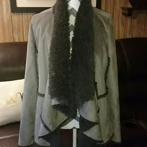 Fever London Jackets & Blazers - Fever Faux Fur Coat