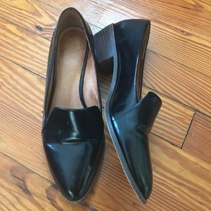 Madewell patent loafer