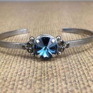 Sorrelli Jewelry - Sorrelli' Montana Blue Crystal slim Cuff, NWT