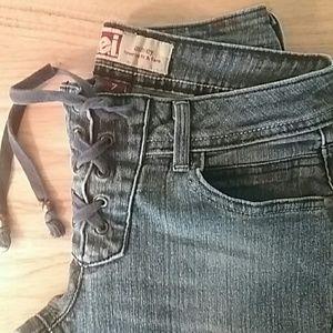 I.e.i Denim - I.e.i~ Low Rise fit & flare Jeans