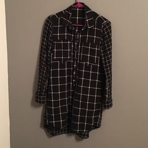 Blank NYC Dresses & Skirts - Blank NYC plaid shirtdress