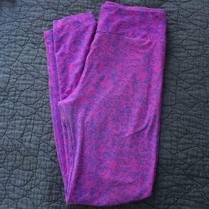 LULAROE OS one size leggings