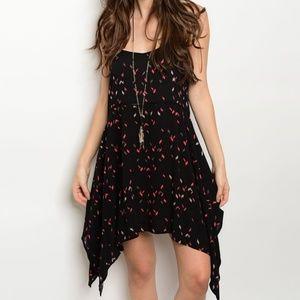 Dresses & Skirts - 🎉2x HP🎉Asymmetrical Slip Dress