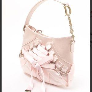 Christian Dior Handbags - 💎💕Gorgeous Christian Dior Satin Ballet Bag 💕💎
