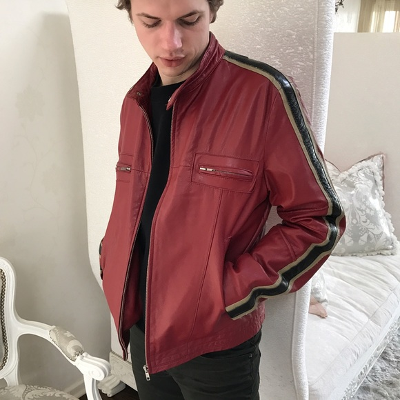 cheaper a288a 3dfd7 Conbipel limited edition real leather jacket.