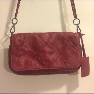 Linea Pelle Handbags - Linea Pelle Leather Flap Crossbody Bag