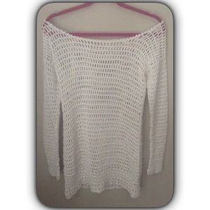 Sabo Skirt Tops - Sabo skirt knit beach sweater reduced final price