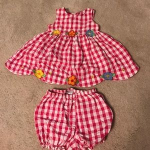 Youngland Other - Youngland pink gingham girls dress size 18 months