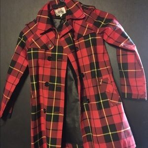 Junior Gaultier Other - Plaid Spring or fall Trench Coat