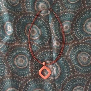 Premier Designs Jewelry - Premier Designs copper pendant necklace