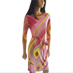 FLORA KUNG Dresses & Skirts - FLORA KUNG NWT printed silk jersey Channing dress