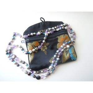 "Honora Jewelry - HONORA Freshwater Pearl & Gemstone 38"" Necklace"