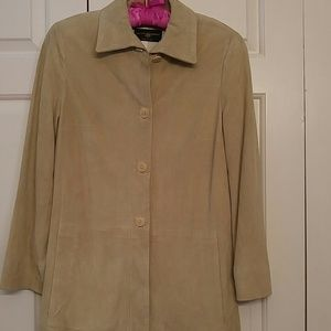 Luciano Barbera Jackets & Blazers - Barneys NYC Buttery soft Italian suede jacket.