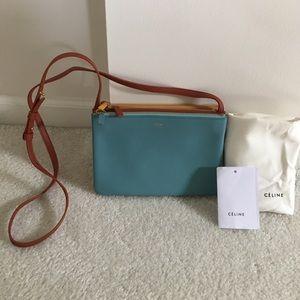 Celine Handbags - Céline Small Tricolor Trio Bag. NWT!