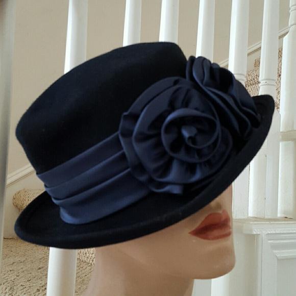 Bollman Hat Co. Accessories -  roberts333 Vintage 100% Wool Doeskin Felt Hat 2bce49350f1b