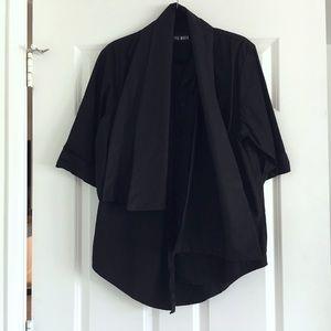 Style Mafia Tops - SALE❗️Style Mafia Black Conna Tie Blouse