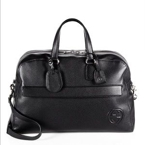 Gucci Soho Leather Duffle Bag