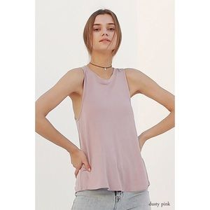 Swing Tank-Dusty Pink