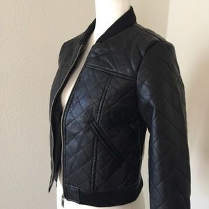NewLook Jackets & Blazers - Faux Leather Moto Jacket