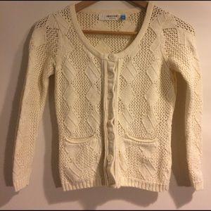 Sparrow Anthropologie Knit Sweater Cardigan