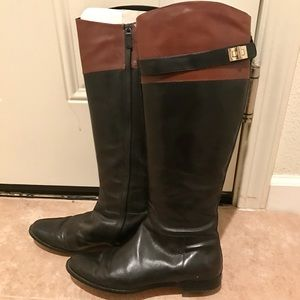 Cole Haan Shoes - Cole Haan Leather Riding Boots
