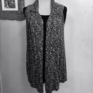 Fever London Sweaters - Almost new sleeveless Waterfall Cardigan