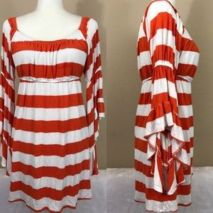 Vava by Joy Han Dresses & Skirts - Va va by joy han striped 70s hippie dress