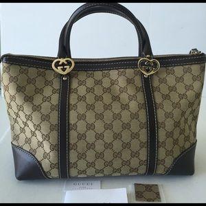 Gucci Handbags - Authentic Gucci GG Canvas Tote