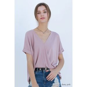 Top-Dusty Pink