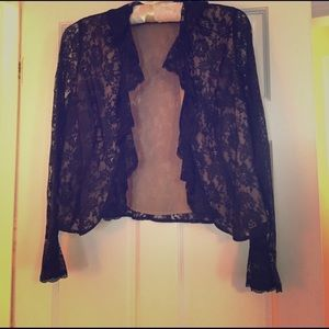 Other - Black Lace Jacket