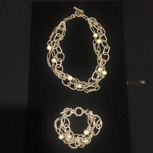 Premier Designs Jewelry - Premier Designs necklace & bracelet set