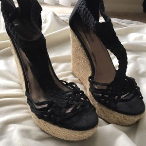 Mossimo Supply Co Shoes - Black wedges