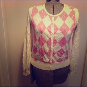 Talbots Small Sequin Cardigan, Never Worn!