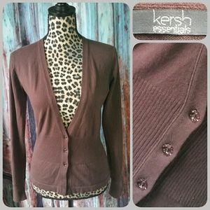 Kersh Sweaters - KERSH ESSENTIALS cardigan
