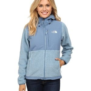 The North Face Jackets & Blazers - NORTH FACE Denali Hoodie Blue zip