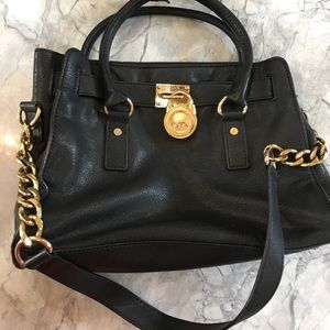 Gorgeous Black and Gold Michael Kors Bag