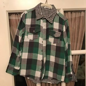 3Pommes Other - 3 Pommes Flannel Shirt