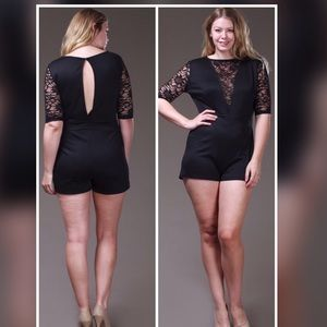 Pants - 💖PLUS💖NEW💖The Elaina Sexy Romper