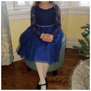Youngland Other - 🎉SALE🎉Girls navy party dress
