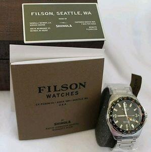 Filson Other - sale, $900 filson shinola Men's Stainless watch