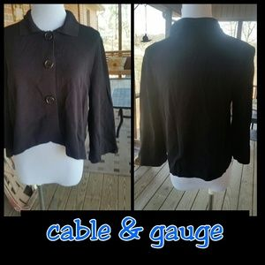 Cable & Gauge Sweaters - Gorgeous Cable & Gauge Lightweight Sweater!