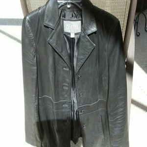 Wilsons Leather Jackets & Blazers - Black leather coat