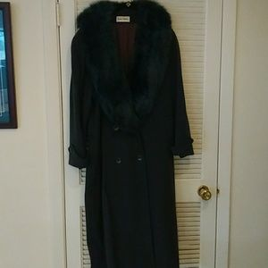 11 By Boris Bidjan Saberi Jackets & Blazers - Vintage Real Fur Wool Coat