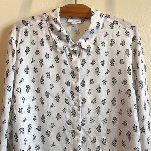 04c16c86 J. Jill Tops   J Jill Essential Linen Shirt Womens Size 2x   Poshmark