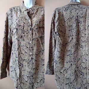 Equipment Tops - EQUIPMENT Femme Signature Silk Blouse | Size Small