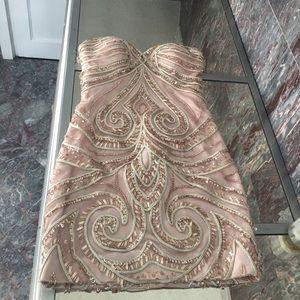Alyce Paris Beautiful sequin occasion dress 0