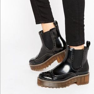 ASOS Monki Chunky Worker Boots