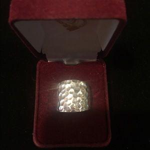 Premier Designs Jewelry - Premier Designs hammered silver ring