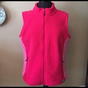 Vineyard Vines Jackets & Blazers - Vineyard Vines Pink Fleece Vest XL